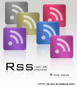 Le icone RSS di leoparn